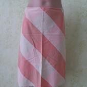 Натуральная летняя юбка котон/лен