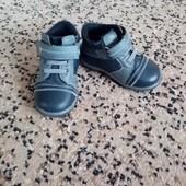 Кожаные демисезонные ботиночки 13 см. 20 размер
