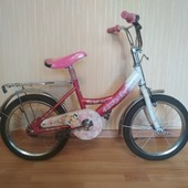 Велосипед mustang dream rider princess колеса 14.