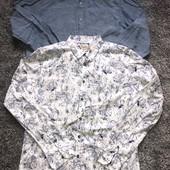 Две фирменные рубашки одним лотом