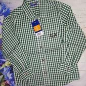 Котоновая рубашечка Lupilu на мальчика 2-4 года!