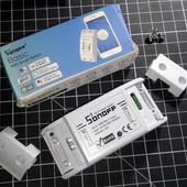 Беспроводное Wifi реле Sonoff Basic (умный дом, Wifi выключатель, Wifi розетка)