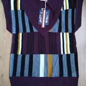 Мужская кофта безрукавка немецкого бренда Gаte Оne. Размер на выбор.