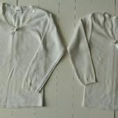 Две белые кофточки (4),(6)р.р.