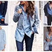 джинсовка Esmara, джинсовая рубашка должна быть в каждом гардеробе, варианты стиля