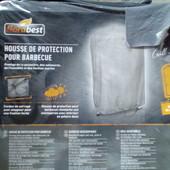 Чехол защитный для гриля барбекю серый Florabest