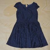 Очень красивое кружевное платье 4/5 110 см