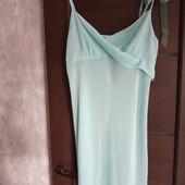 Фирменная красивая шифоновая ночная сорочка в состоянии новой вещи р.12-14