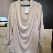 Новая шикарная, удлиненная блуза, рубашка in The Style. P. 12/L.