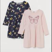 ♥-платье Н&М,размер 8-10..розовое платье-♥