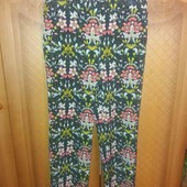 Не пропустіть! Легкі літні брюки в квітковий принт, стан нових!