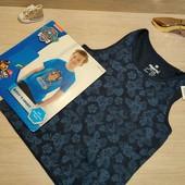 Германия!!! Лот из коттоновой футболки и майки для мальчика! 122/128!