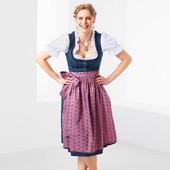 Баварский традиционный костюм, 3 в 1,полный комплект, Tchibo(Германия),рр. наши: 42-44 (38 евро)