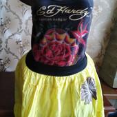 Женская летняя юбка. Размер L.