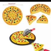 удивите своих детек яркой красивой игрушечной пиццей. Читайте.В наличии одна.Смотрите мои лоты