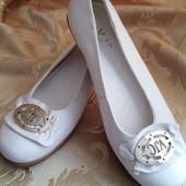 Мягкая натуральная кожа. Женские туфли на низком ходу VJС производитель Италия. размер 37-23,5.