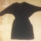 Стильное платье туника/на зАпах и карманами.
