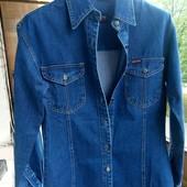 Класна! Стильна!джинсова куртка - сорочка West Land