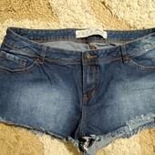 Ультра короткие джинсовые шорты Primark, размер 16