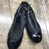 Женские кожаные балетки Chanel, производство Париж, размер 37-23 см.