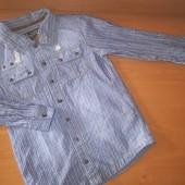 Rocha John Rocha. Рубашка для мальчика, на 9 лет, на рост 134