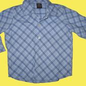 Новая хб рубашка,рост 86 см,Next