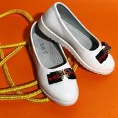 Нежные и очень классные туфельки ! Качество 5+! Мега удобные!