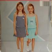 комплект: два платья на девочку от alive.