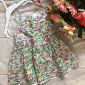 Шикарное лёгкое воздушное платье от Next , 6-9 мес.