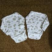 Комплект бодиков для новорожденного мальчика от bremо.