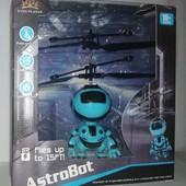 Робот летающий, сенсорное управление + Шнур USB
