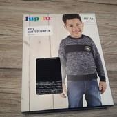 Германия! Вязаный свитерок на мальчика, 110-116 см, 4-6 лет. Можно на подарок