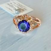 16,5р✓Невероятно красивое кольцо с шикарным камнем✓Реальные фото✓лоты собираю