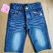 Джинсовые шорты для девочек, размер на выбор.