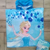 Disney шикарное пончо - полотенце