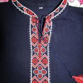 Вышиванка футболка 146р в идеале. одета один раз