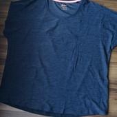 спортивная функциональная футболка Crivit (черный меланж)