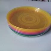 Lidl, Німеччина❤ набір пластикових тарілок, в упаковці 6 штук ** Ernesto** гарна якість