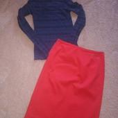Кружевной реглан и стильная юбка одним лотом