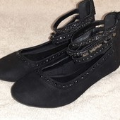 Нарядные балетки туфельки по стельке 19.5 см