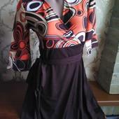 Женское трикотажное платье Lm Lulu, производитель Франция. Размер L - 46-48.