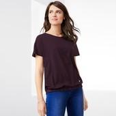 Комфортная блуза-футболка от Tchibo, Германия. Размер 44/46 евро, на наш 50/52