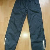 Много лотов,собирайте)женские спортивные штаны -дождевик,с проклееными швами на рост 158/164 ,хс,с
