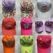 яркие кепки, панамки, разные, 48-56