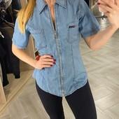 Рубашка женская коттоновая джинсовая Bеnson, турция