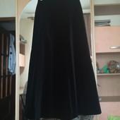 Роскошная, бархатная юбка в пол. P. 42/L