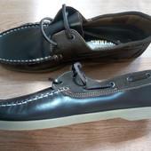 Новые кожаные мокасины туфли Avenue р. 10