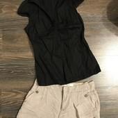 Шорти від Zara і рубашка розмір С