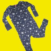 Человечек,слип,пижама,Хлопок ,рост 122 см,Next