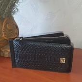 Распродажа!! Вместительный,стильный кошелёк - картхолдер! Кожа+эко кожа!Отлично на подарок!